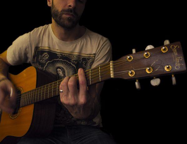 Jérôme Candel, professeur de guitare à Lyon