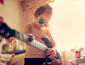 Éveil musical et cours de guitare pour enfants à Lyon